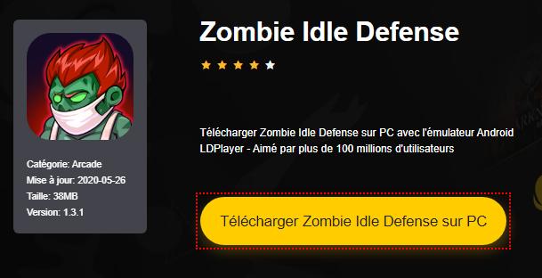 Installer Zombie Idle Defense sur PC