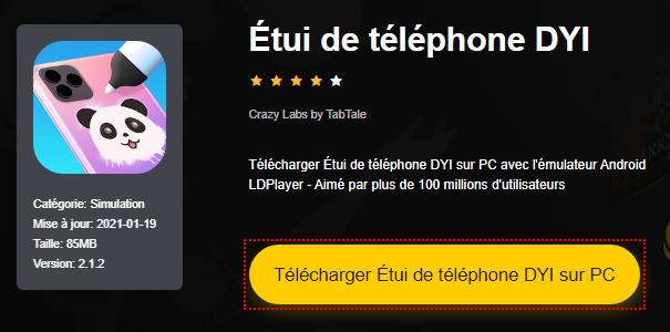 Installer Étui de téléphone DYI sur PC