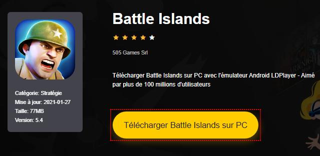 Installer Battle Islands sur PC