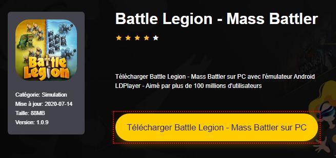 Installer Battle Legion - Mass Battler sur PC