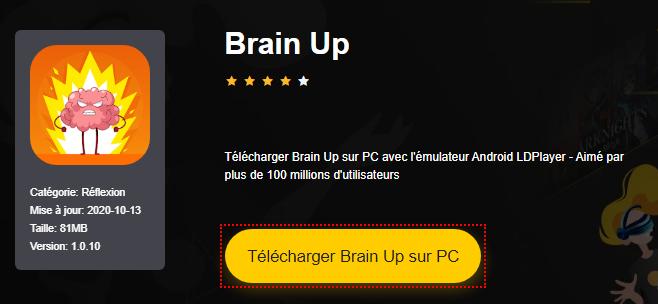 Installer Brain Up sur PC
