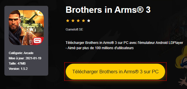 Installer Brothers in Arms® 3 sur PC