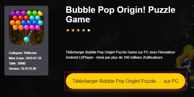 Installer Bubble Pop Origin! Puzzle Game sur PC