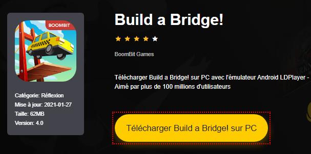 Installer Build a Bridge! sur PC