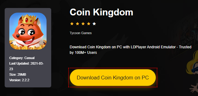 Installer Coin Kingdom sur PC