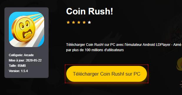 Installer Coin Rush! sur PC