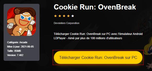 Installer Cookie Run: OvenBreak sur PC