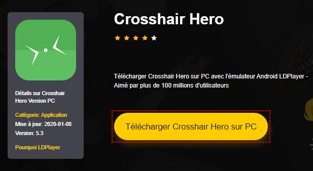 Installer Crosshair Hero sur PC