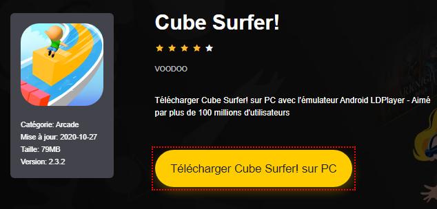 Installer Cube Surfer! sur PC