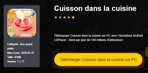 Installer Cuisson dans la cuisine sur PC