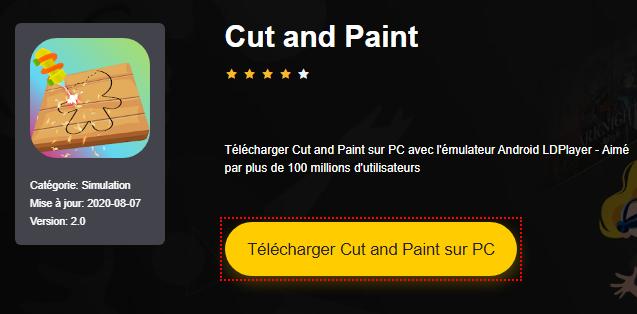 Installer Cut and Paint sur PC