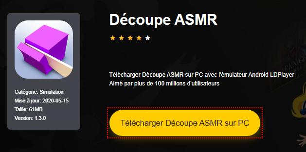 Installer Découpe ASMR sur PC