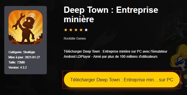 Installer Deep Town : Entreprise minière sur PC