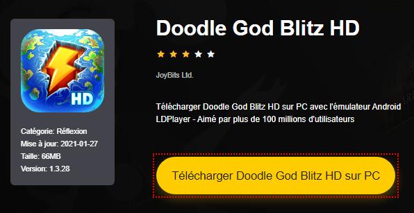 Installer Doodle God Blitz HD sur PC
