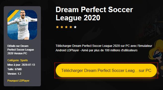 Installer Dream Perfect Soccer League 2020 sur PC