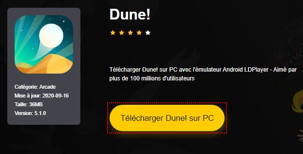 Installer Dune! sur PC