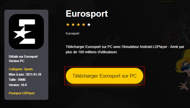 Installer Eurosport sur PC