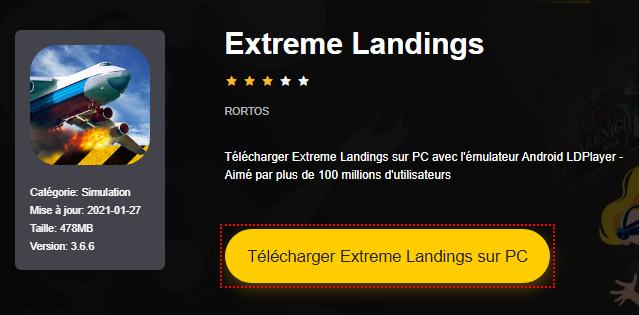 Installer Extreme Landings sur PC