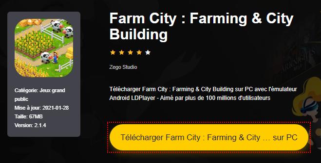 Installer Farm City : Farming & City Building sur PC