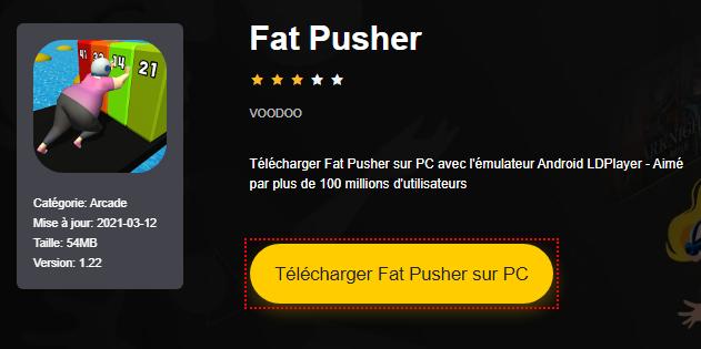 Installer Fat Pusher sur PC