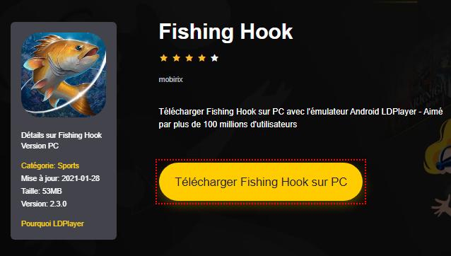 Installer Fishing Hook sur PC