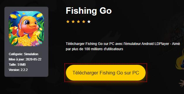 Installer Fishing Go sur PC