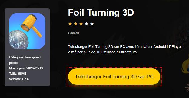 Installer Foil Turning 3D sur PC