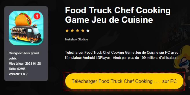Installer Food Truck Chef Cooking Game Jeu de Cuisine sur PC