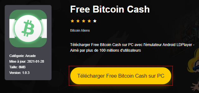 Installer Free Bitcoin Cash sur PC