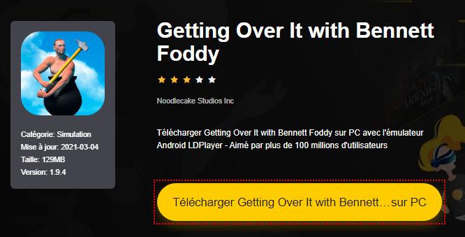 Installer Getting Over It with Bennett Foddy sur PC