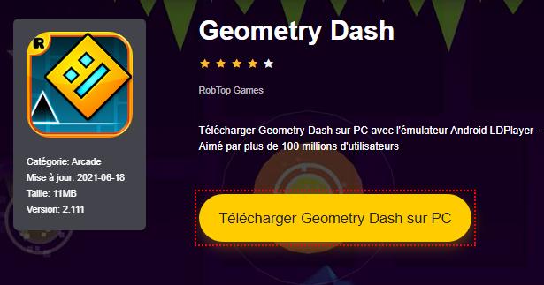 Installer Geometry Dash sur PC