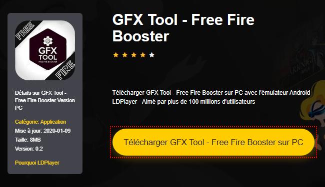 Installer GFX Tool - Free Fire Booster sur PC