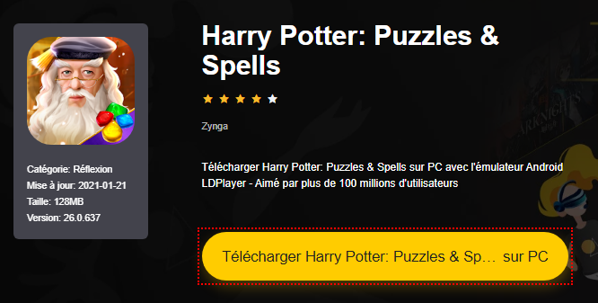 Installer Harry Potter: Puzzles & Spells sur PC