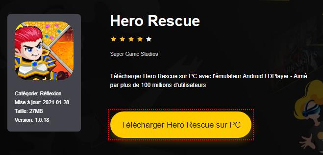 Installer Hero Rescue sur PC