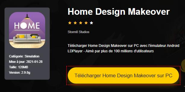 Installer Home Design Makeover sur PC