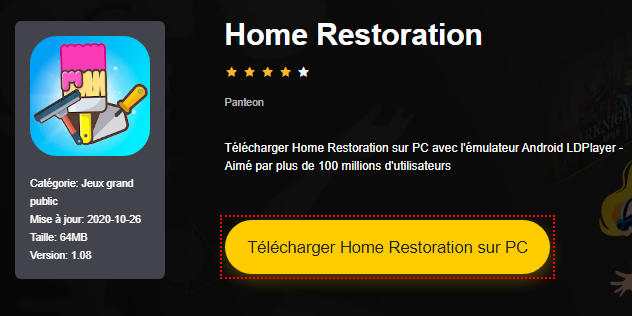 Installer Home Restoration sur PC