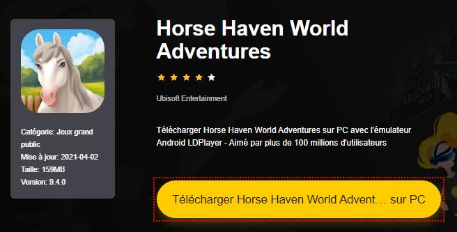 Installer Horse Haven World Adventures sur PC