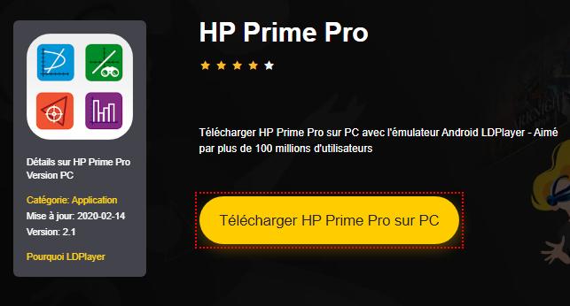 Installer HP Prime Pro sur PC