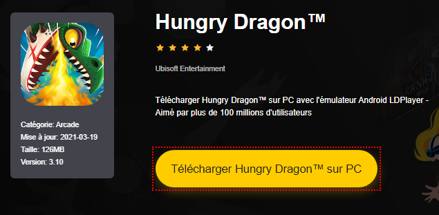 Installer Hungry Dragon™ sur PC
