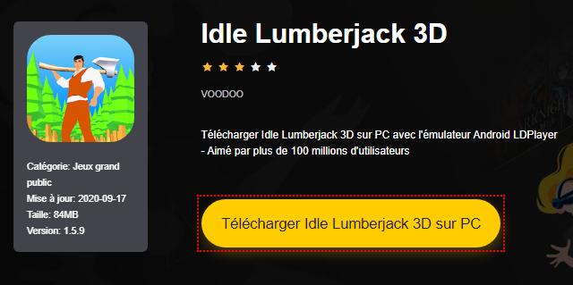 Installer Idle Lumberjack 3D sur PC