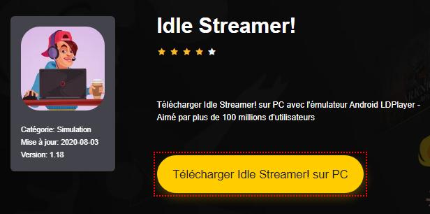 Installer Idle Streamer! sur PC