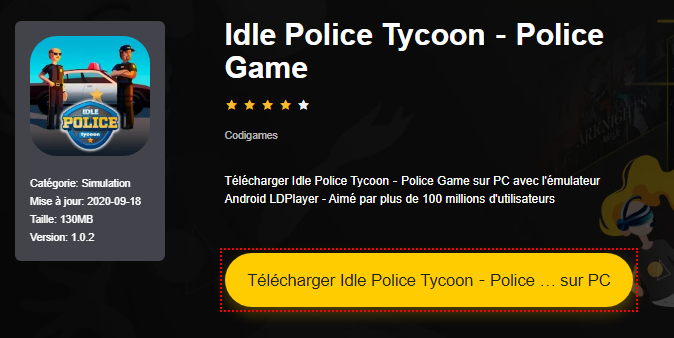 Installer Idle Police Tycoon-Police Game sur PC