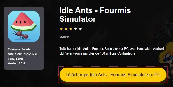 Installer Idle Ants - Fourmis Simulator sur PC