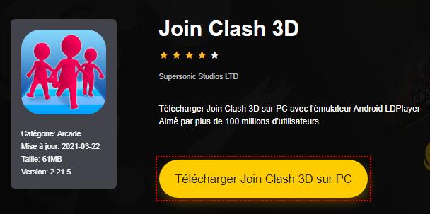 Installer Join Clash 3D sur PC