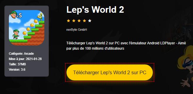 Installer Lep's World 2 sur PC