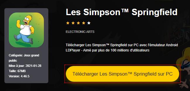 Installer Les Simpson™ Springfield sur PC