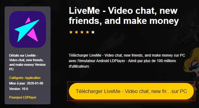 Installer LiveMe - Video chat, new friends, and make money sur PC