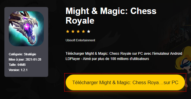 Installer Might & Magic: Chess Royale sur PC