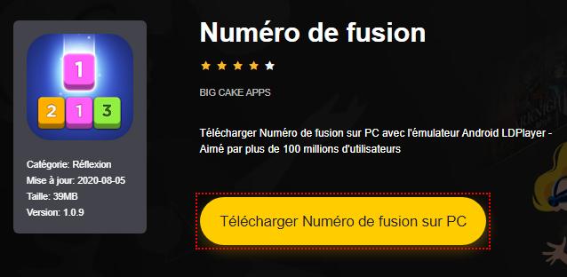 Installer Numéro de fusion sur PC