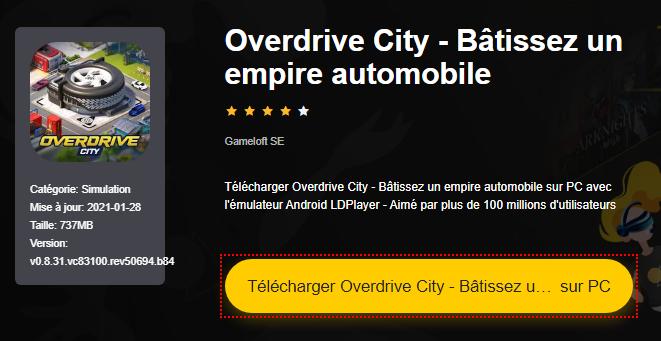 Installer Overdrive City - Bâtissez un empire automobile sur PC